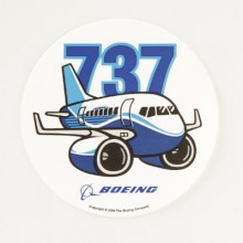 Nálepka Boeing 737