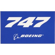 Nálepka Boeing 747