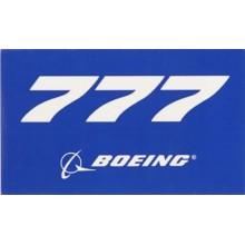 Nálepka Boeing 777