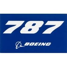 Nálepka Boeing 787
