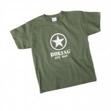 Tričko Boeing Stencil Star military