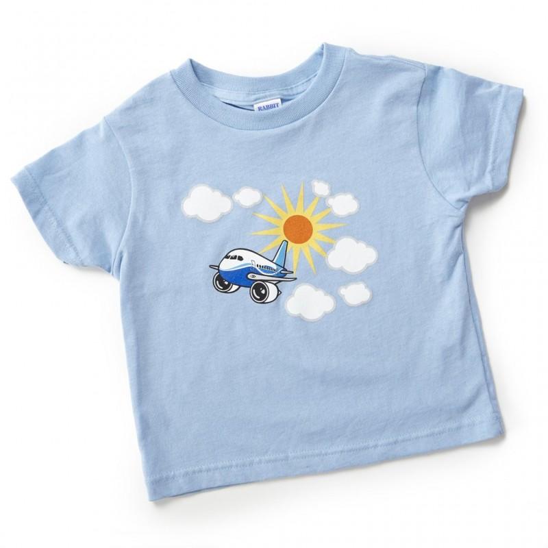 94aa94b1e861 Fanúšikovia malých lietadiel si zamilujú naše rozkošné tričko. Soft 5