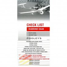 Pooleys Diamond DA40 checklist
