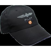 Šiltovka pilot čierna