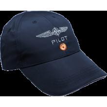 Šiltovka pilot modrá