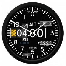 """Trintec 10"""" nástenné hodiny výškomer"""