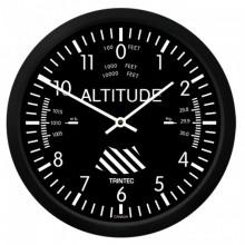 """Trintec 10"""" nástenné hodiny klasický výškomer"""