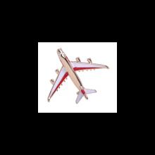Brošňa - lietadlo červená