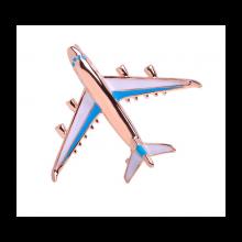 Brošňa lietadlo - modrá