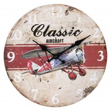 Nástenné hodiny Classic Aircraft
