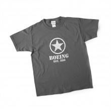 Tričko Boeing Stencil Star šedé