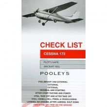 Pooleys Cessna 172 checklist