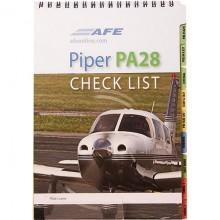 AFE Piper PA28 checklist