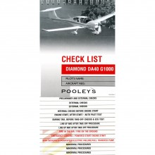 Pooleys Diamond DA40 G1000 checklist