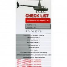 Pooleys Robinson R44 Raven checklist