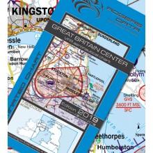 Anglicko Centrum VFR Letecká mapa - ICAO 500k