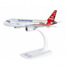 "Model Airbus ČSA A319-112 ""Prague - City of Magic"""