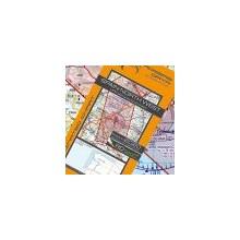 Španielsko Severozápad letecká mapa VFR - ICAO 500k 2019