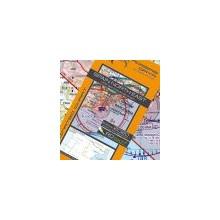 Španielsko Severovýchod letecká mapa VFR - ICAO 500k 2019