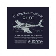 Tričko s ultralight lietadlom STING S-4